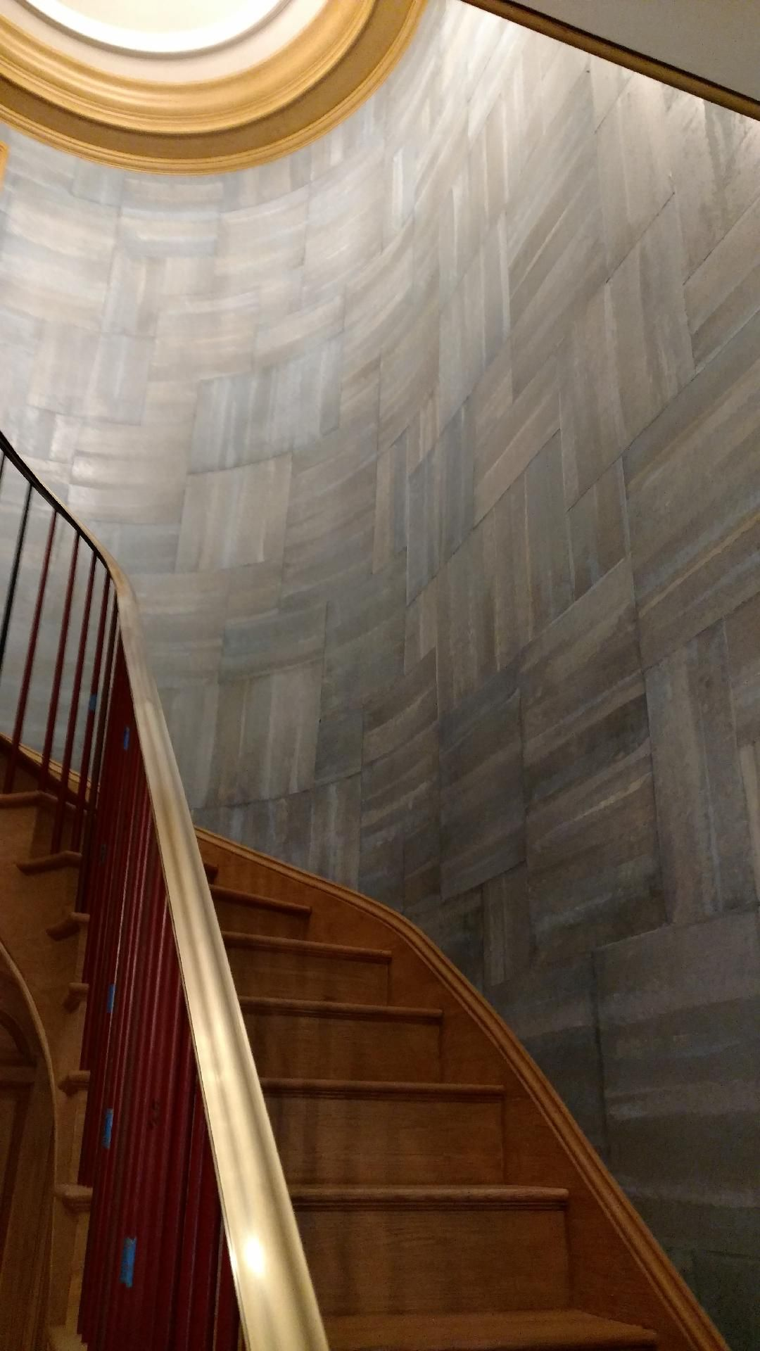 Wallpaper Installation in Staircase Wallpaper staircase