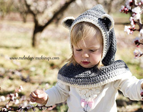 Crochet Animal Hat Patterns For Baby Kids Adult Crocheted