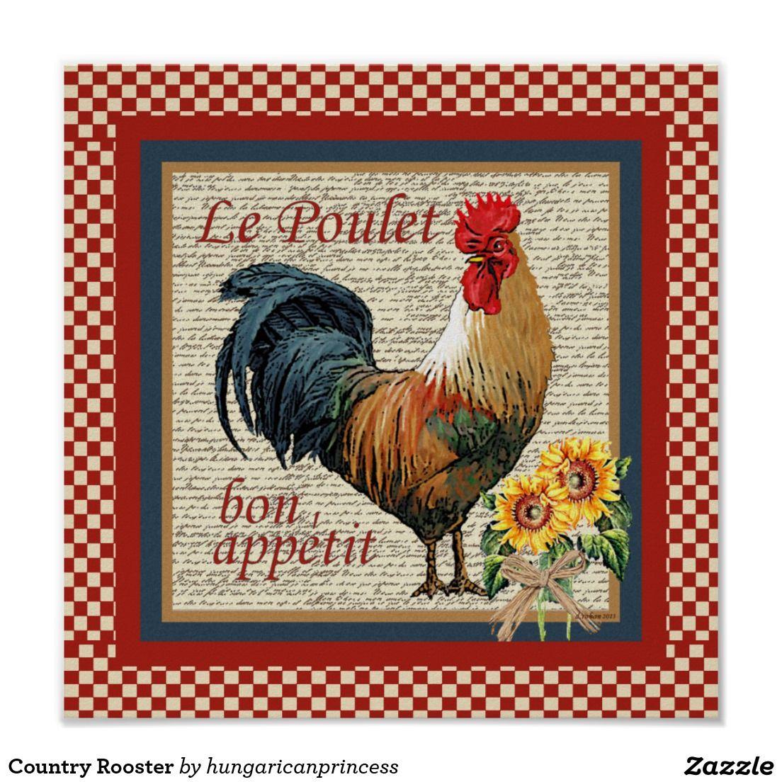 Gallo del país | Gallos y Gallinas | Pinterest | Gallos, Póster y ...