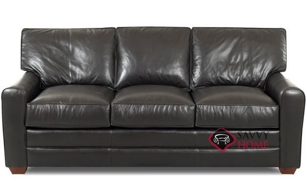 Halifax Leather Sofa By Savvy