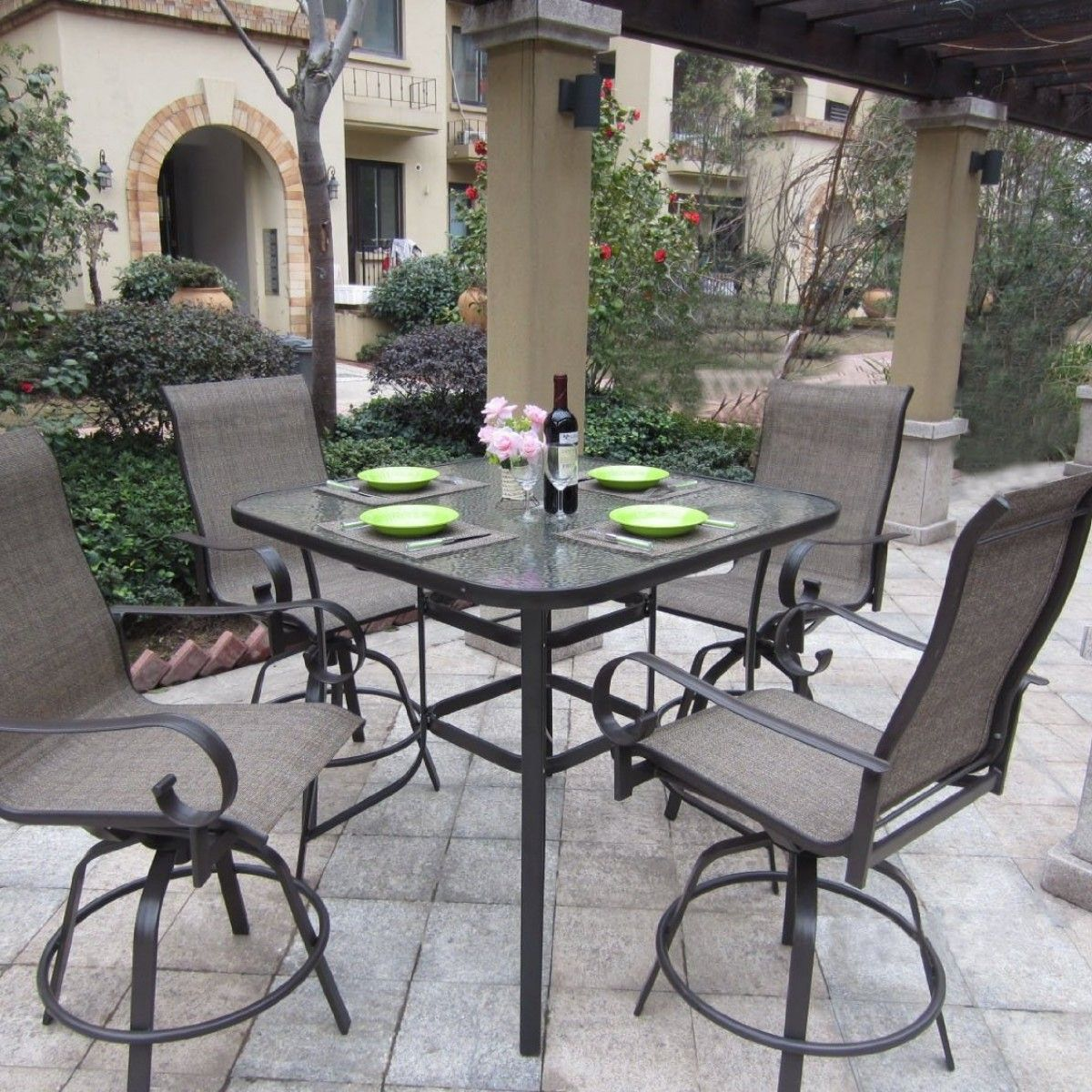 Meijer Patio Furniture Callaway 7 Piece Padded Sling Outdoor Patio Set  $349.99 At Meijer | Patio Furniture Ideas | Pinterest | Patios and Furniture  ideas - Meijer Patio Furniture Callaway 7 Piece Padded Sling Outdoor Patio