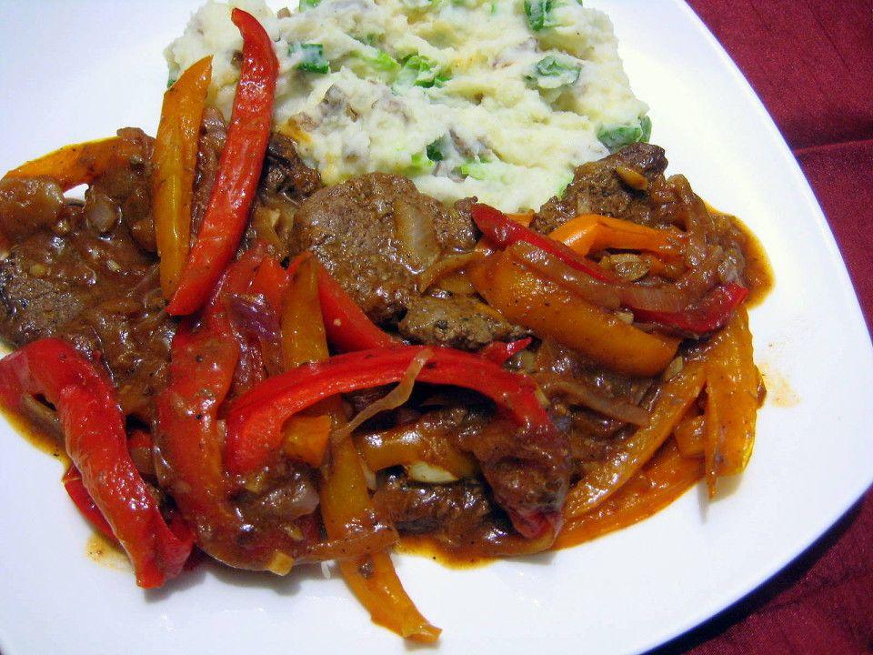 recipe for jamaican pepper steak  stuffed peppers pepper