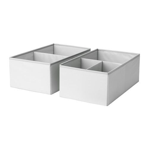 SLÄKTING Box with compartments - IKEA. Ikea StuvaStorage BoxesSmall ...  sc 1 st  Pinterest & SLÄKTING Box with compartments gray turquoise | Drawers Nursery ...