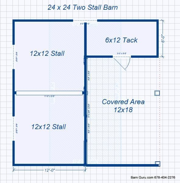 Barn Plans Stall Horse Barn I Think This Is What I Have Decided To Build For