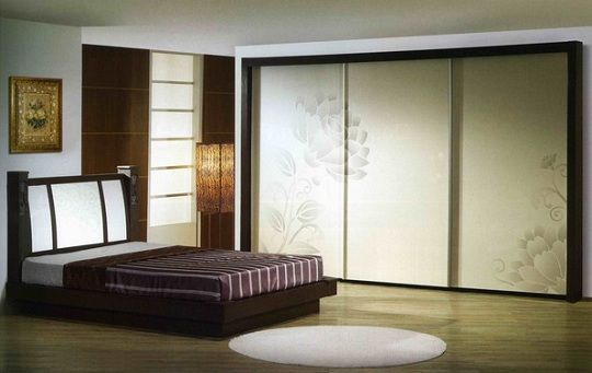 oak for doors of bedrooms interior large modern mirrored door wardrobe bedroom ideas organization closet medium size sliding