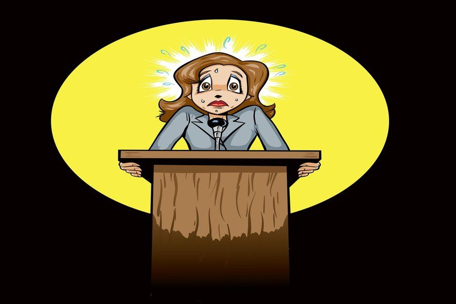 public speaking anxiety and its effect Speaking anxiety on the effectiveness of group discussion as a learning strategy  in  public secondary schools purposively sampled from a total of 206 public.