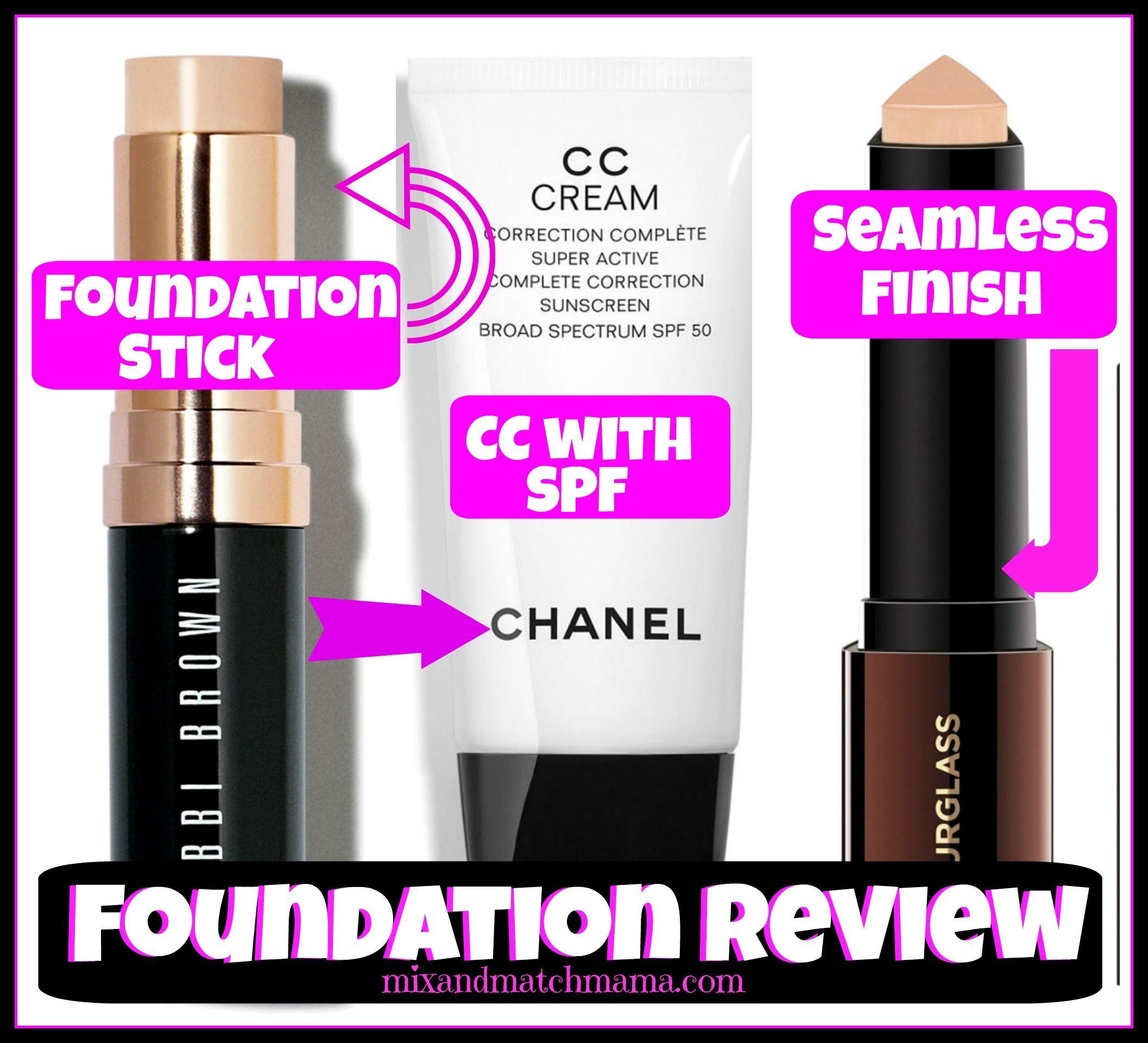 Foundation Review Bobbi brown foundation, Foundation, Cc