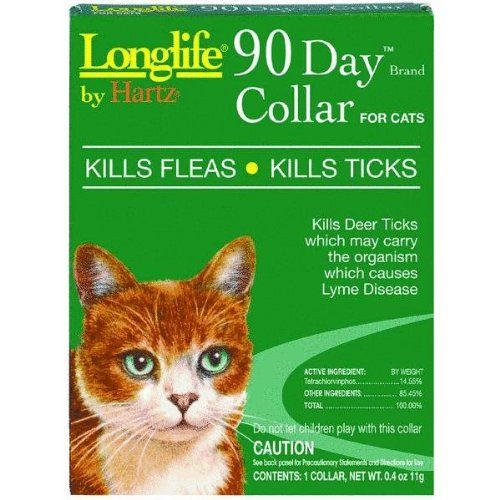 Hartz Mountain 3270089714 Long Life 90 Day Flea And Tick Collar Check This Awesome Image Cat Products Flea And Tick Cat Fleas Fleas