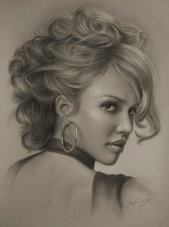 21 remarkable pencil portraits of celebrities
