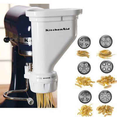 Pasta Attachment Yes Yes Kitchenaid Pasta Kitchenaid Pasta Press Kitchen Aid Mixer Attachments