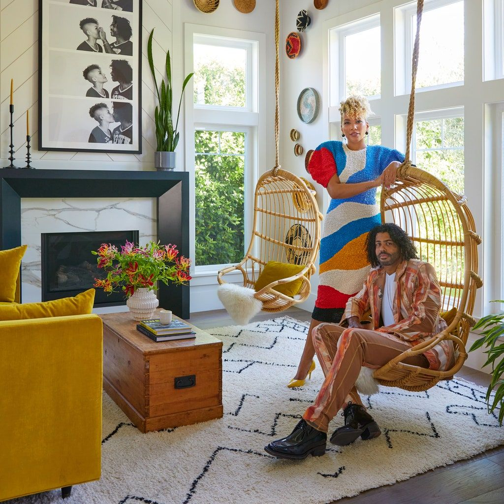 Step Inside Emmy Raver-Lampman and Daveed Diggs's Colorful ...