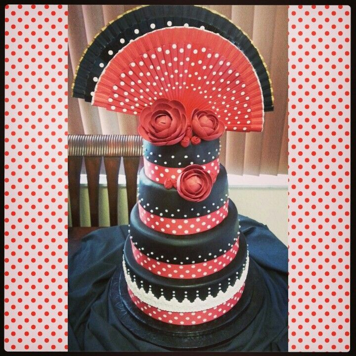 Spanish Flamenco Cake Spain