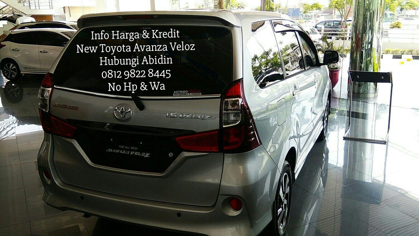 Eksterior Belakang Mobil Toyota Avanza Veloz Toyota