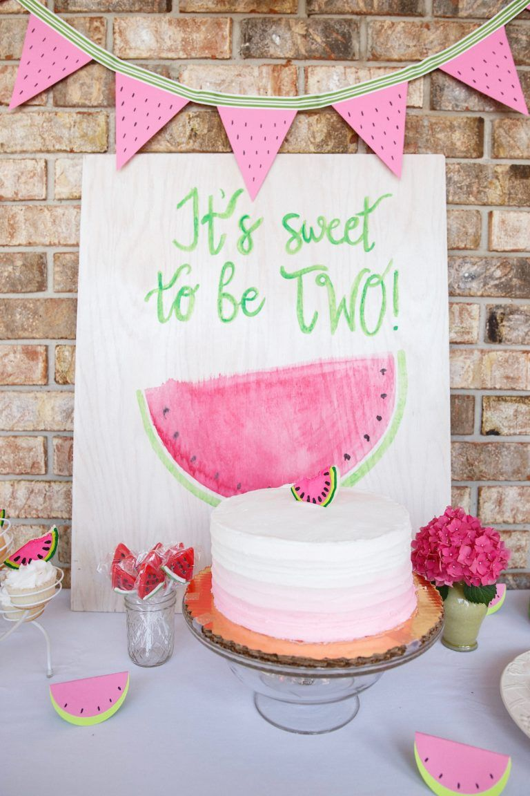 it's sweet to be two watermelon party in 2018 | bday party