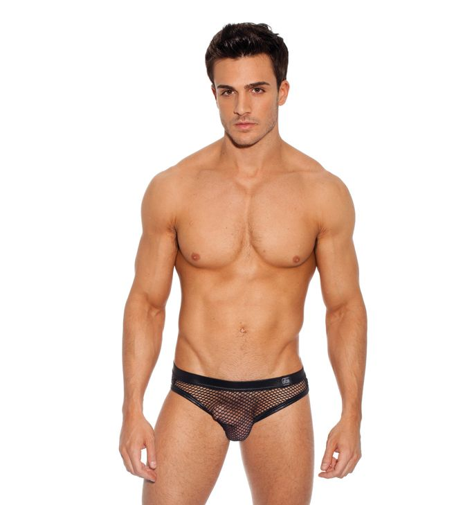 Male model naked underwear