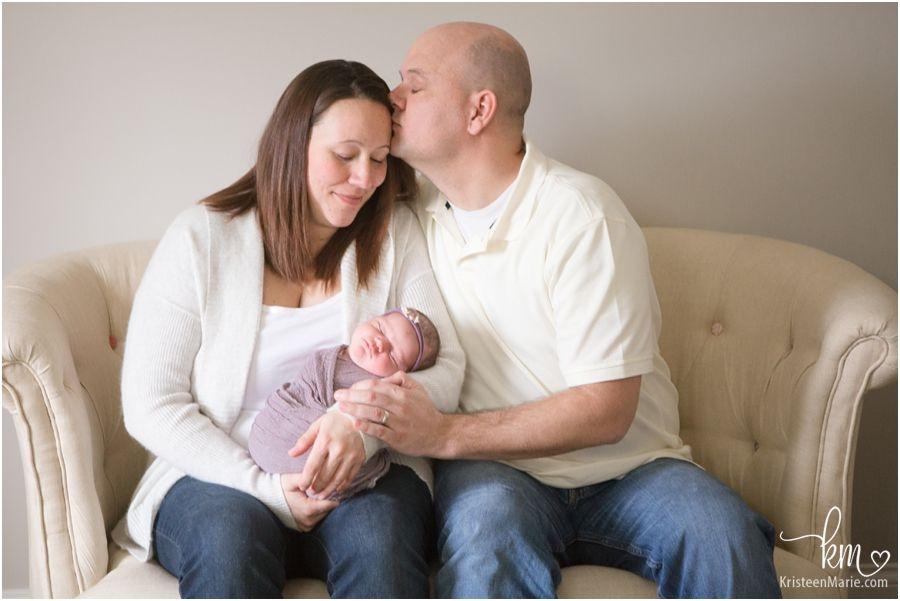 Baby adeline zionsville newborn photography