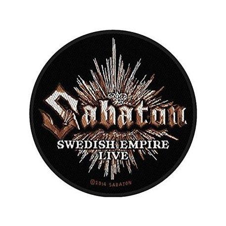 Sabaton - Swedish Empire hihamerkki