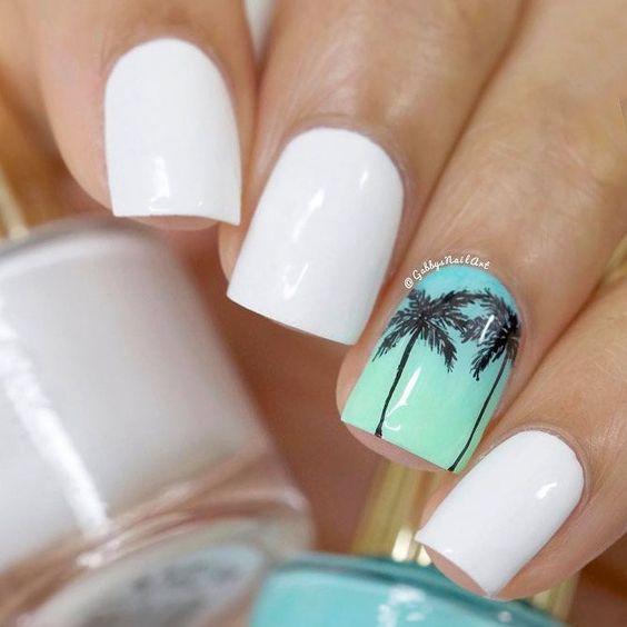 Summer Nails Hair Care Tips Summer Nails Colors Nail Colors Nail Art Designs Summer
