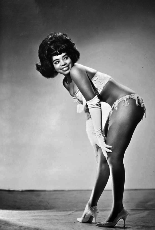 d5337a9e813 vintagegal  Burlesque dancer Miss Topsy c. 1960s