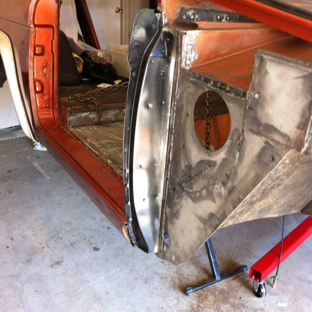 76 Bronco Sheet Metal Repairs Classic Ford Broncos Early Bronco Ford Bronco