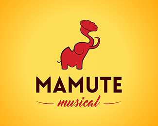 a756995cd005b0 Mamute Musical - Logo Design - Logomark
