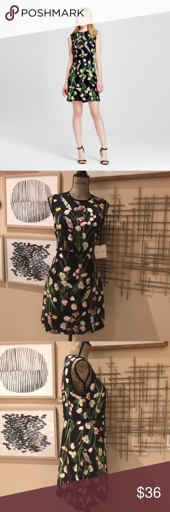 Victoria Beckham Black Floral Dress Floral Dress Black Dresses Floral Dress [ 1740 x 580 Pixel ]