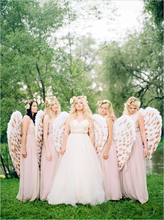 Heavenly Pink And Gold Wedding Ideas