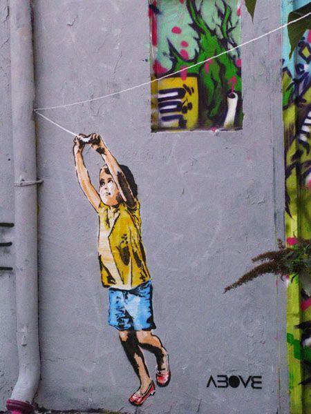 Artist Above Street Art Graffiti Murals Street Art Street Art