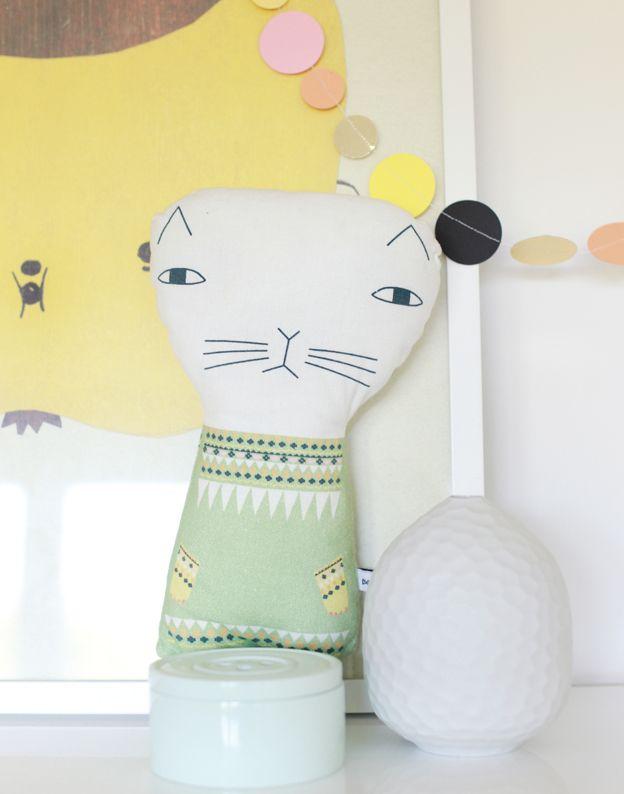 kitty plush doll