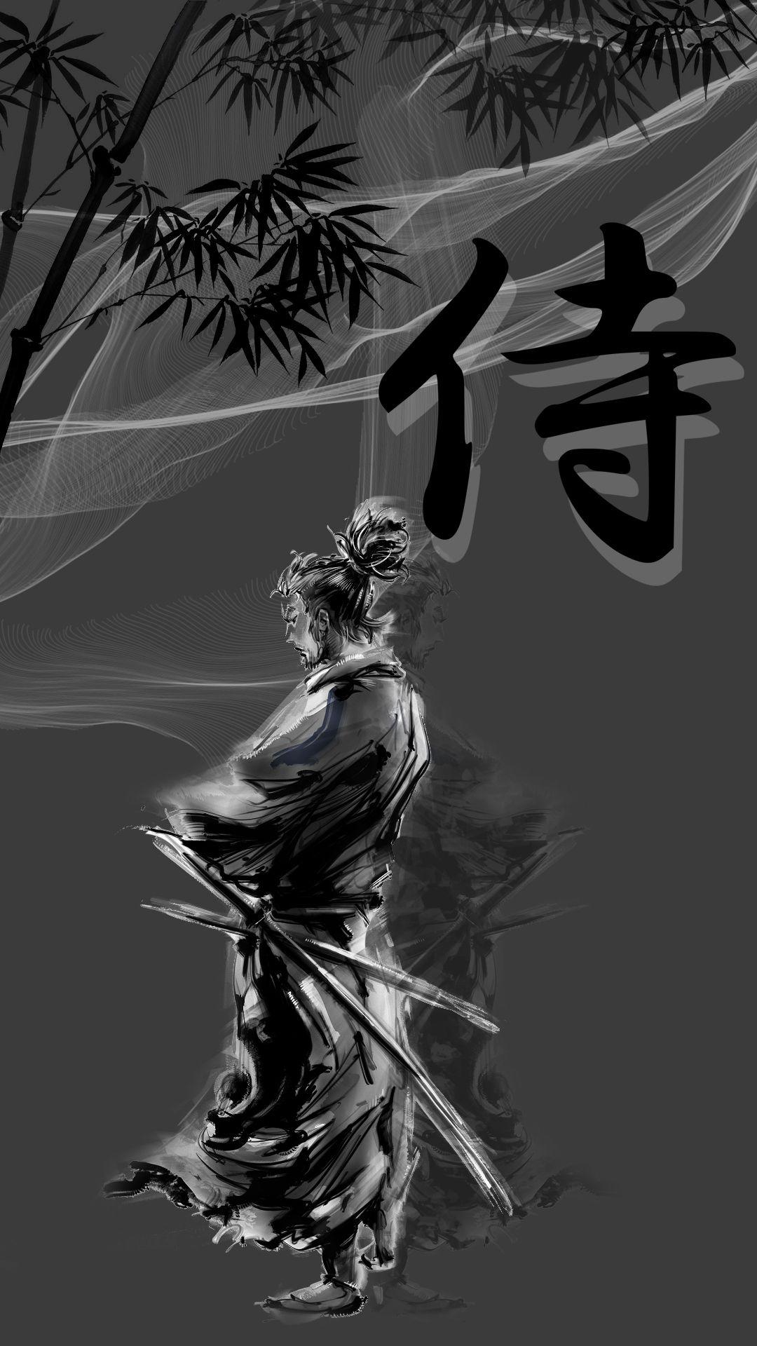 Samurai Mobile Hd Wallpaper In 2020 Samurai Wallpaper Fantasy Samurai Joker Iphone Wallpaper