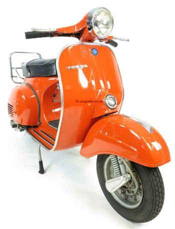 Vespa 125 Sprint Gtr Vintage Scooter In Rare Original Condition And