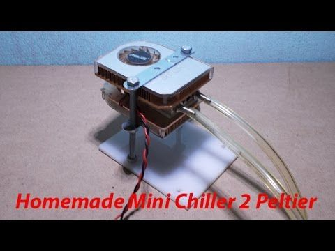 Dual Core Thermoelectric Cooler Diy Peltier Refrigeration Cooling
