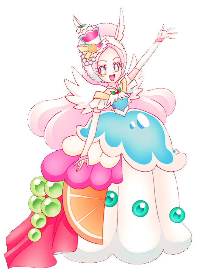 pin by catsuki on kira kira precure a la mode magical girl anime the cure la mode