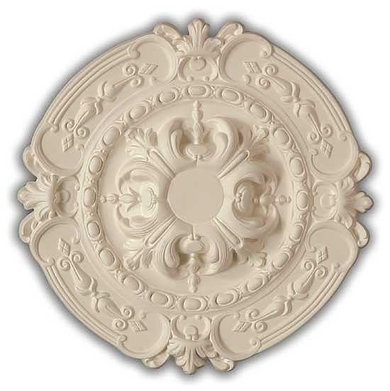 Victorian Ceiling Medallion 17 Inch Desenler