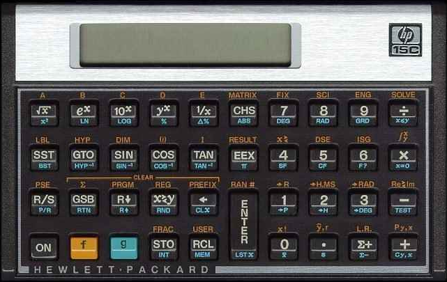 The HpC Calculator Scientific Calculator Was An Rpn Reverse