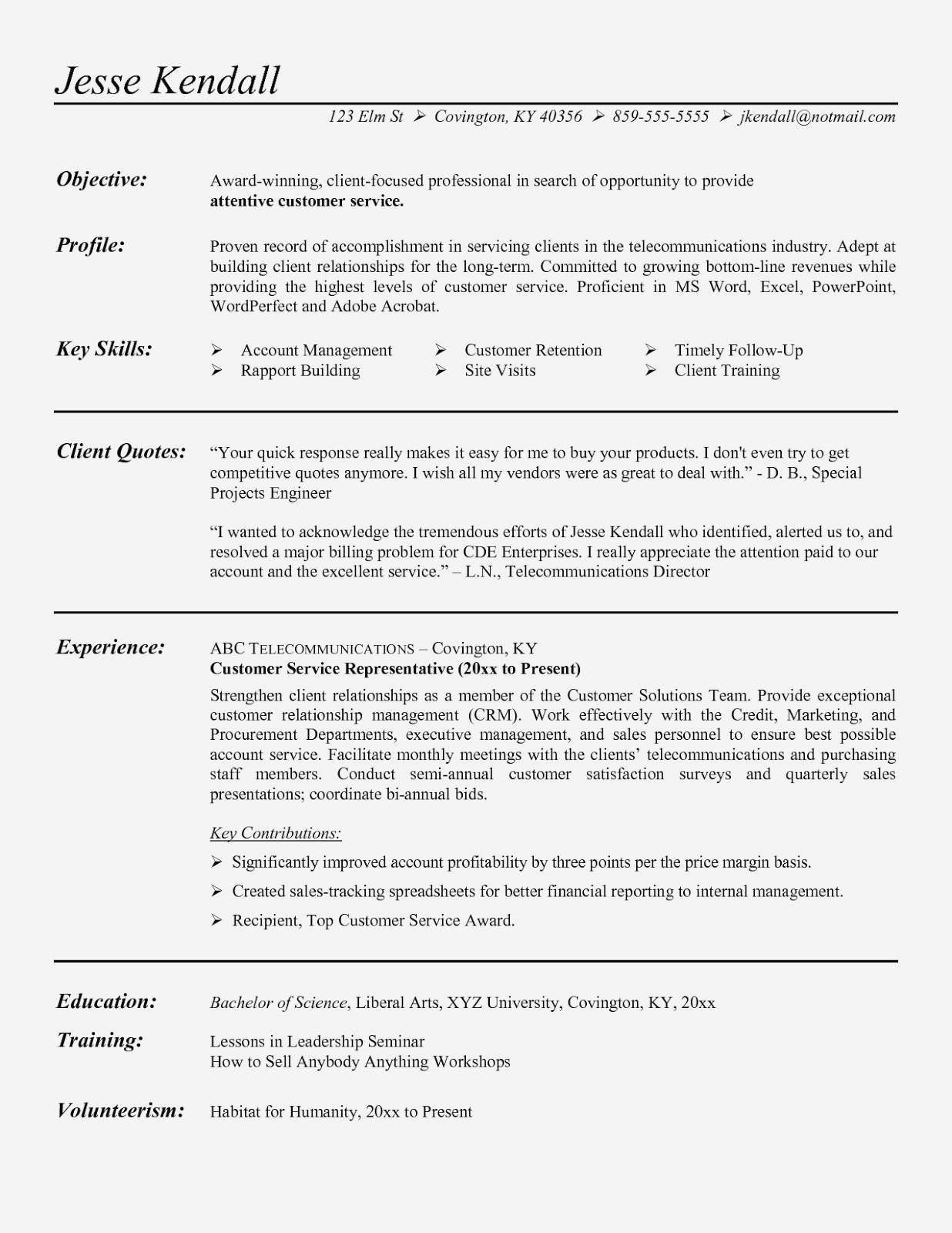 30 System Engineering Resume Examples Customer service