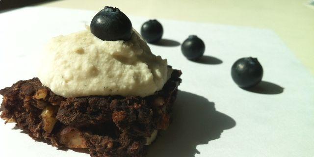 Čoko koko brownies (vegan, posni)