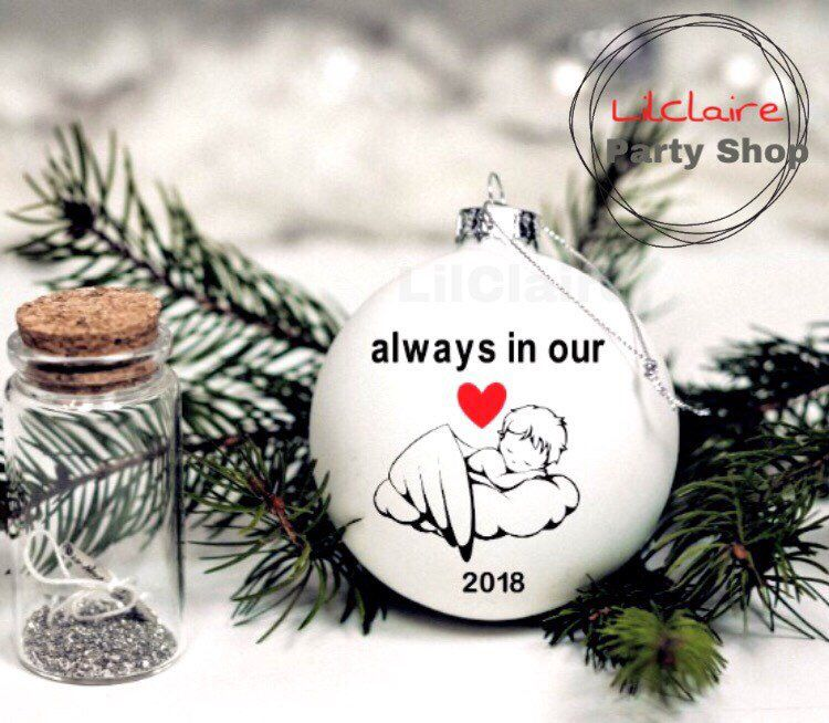 Memorial Christmas Ornament In Memory Of Loved One Loss Of Etsy Christmas Ornaments Memorial Ornaments How To Make Ornaments
