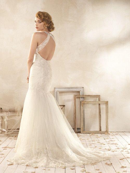 Vintage Style Lace Wedding Dresses   Modern Vintage Wedding Dresses ...