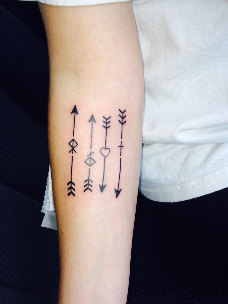 TATTOOS.ORG - Every arrow represents a member of my family