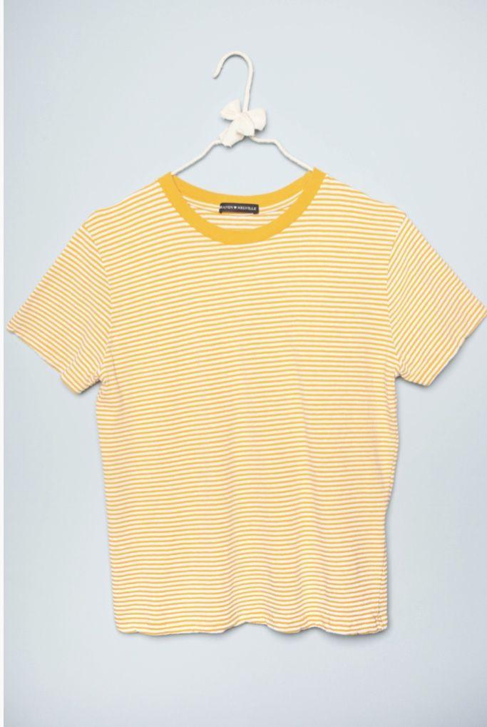 6b05d86321 Aleena top Shirts, Rippen, Tops, Brandy Melville, Fashion, Stripe Pattern,