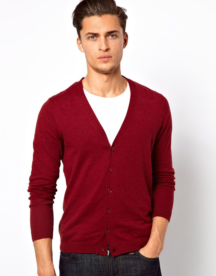 Buy ASOS Men's Red Cardigan, starting at $19. Similar products ...