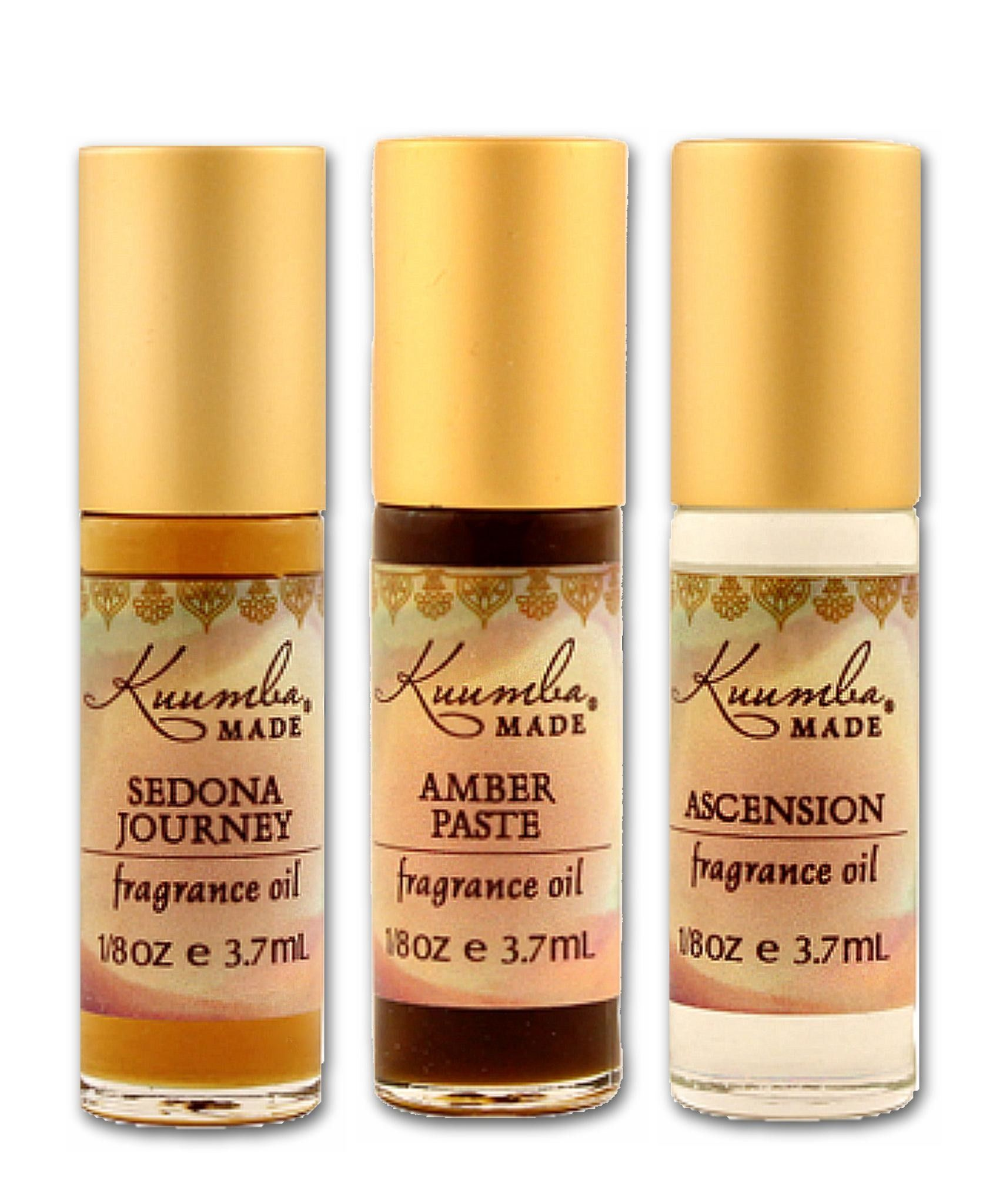 Kuumba Made Fragrance Oils 3 Pack Fragrance Oil Fragrance Kuumba Made