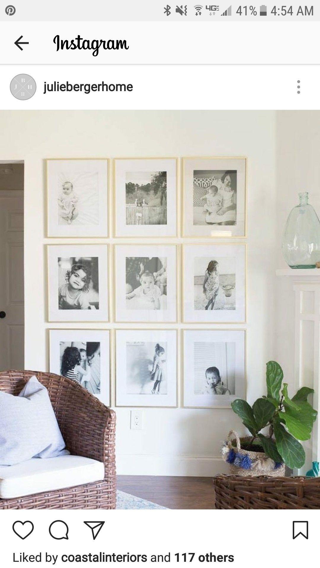 Buw gallery wall nest art u wall decor in pinterest