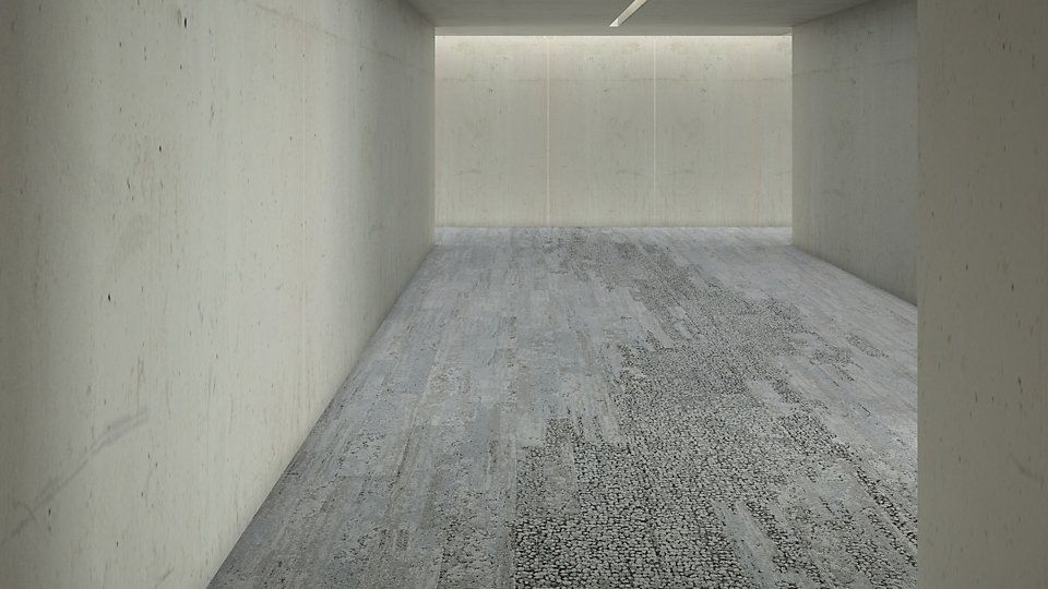 Interface Human Nature Limestone Carpet Modular Interface