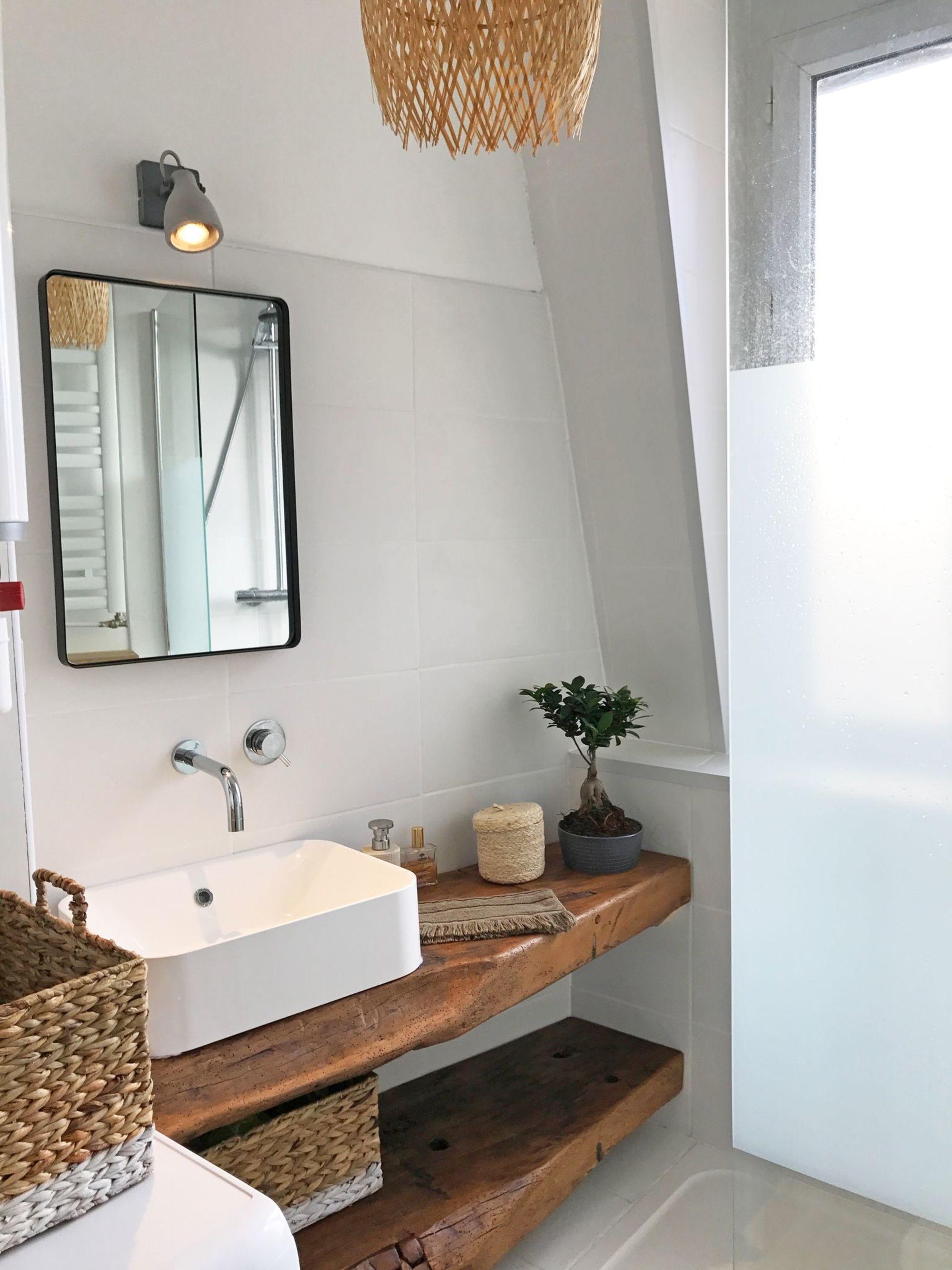 Renovation Petite Salle De Bains De 3 M2 Small Bathroom Bathroom Mirror Frame Bathroom
