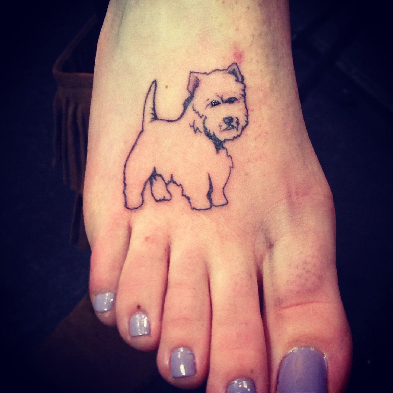 my westie tattoo tattoos pinterest tattoos and body art