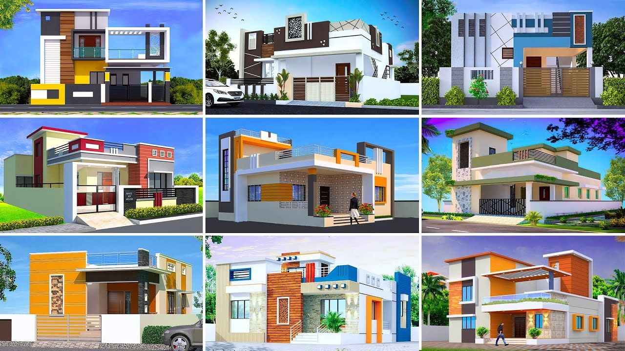 New Beautiful Simple House Front Elevation Designs 2021 Top Future Hou In 2021 Front Elevation Designs House Front Small House Design