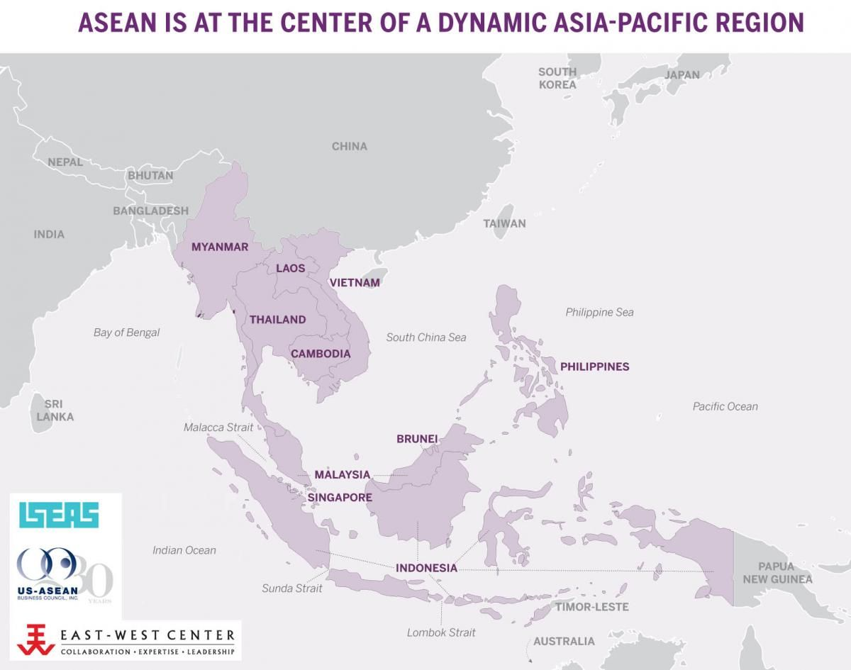 ASEAN is at the center of a dynamic Asia Pacific region.
