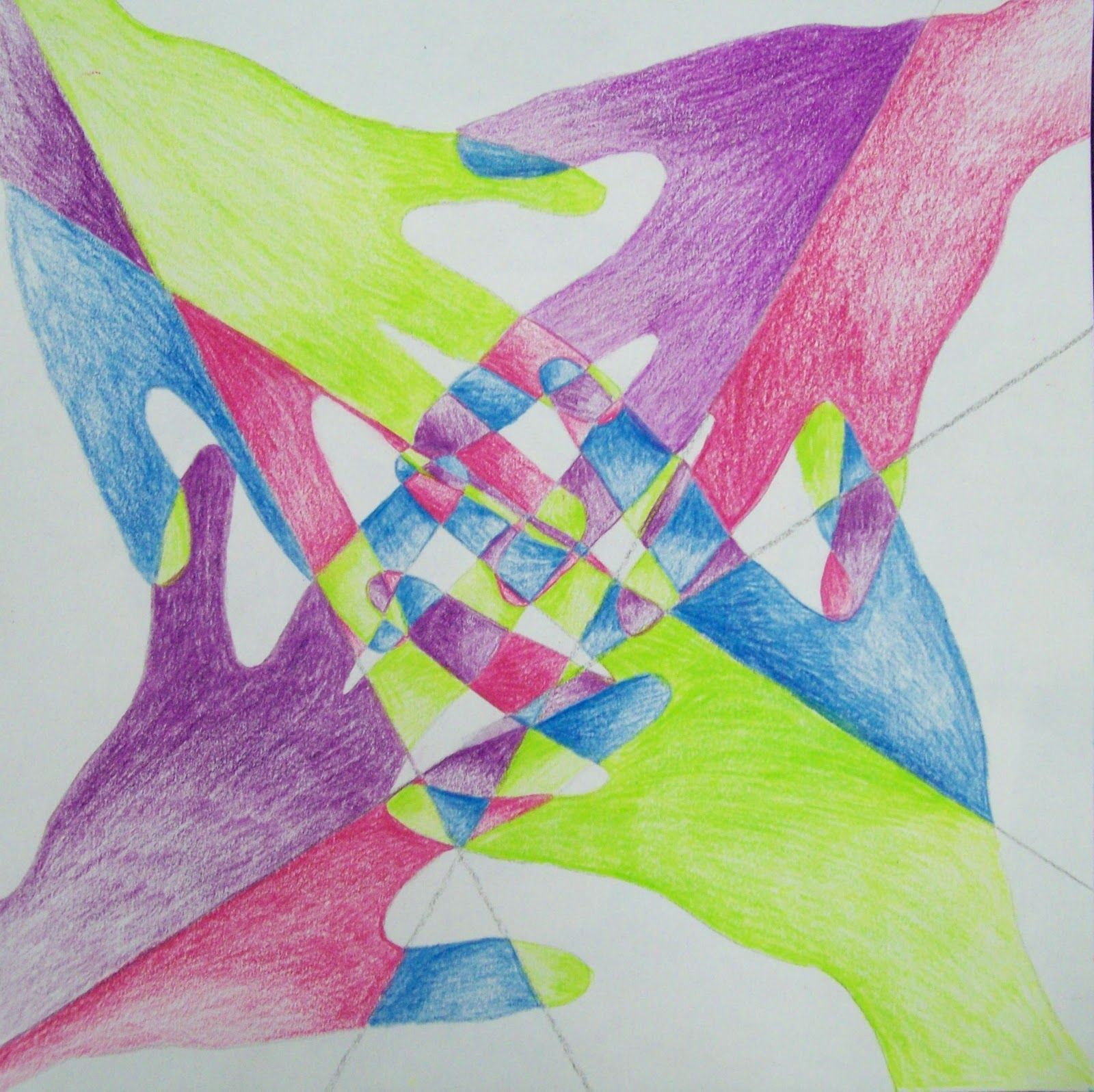 To Teach Overlapping And Color Blending My Artful Nest